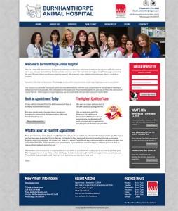 Burnhamthorpe Animal Hospital New Website